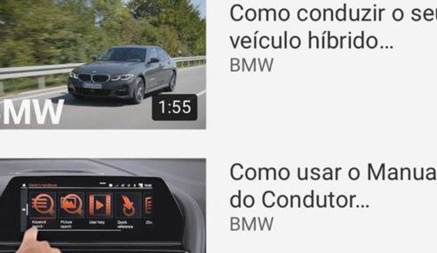 BMW Group Brasil disponibiliza mais de 100 vídeos sobre tecnologia automotiva