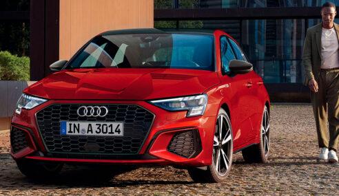 Novas gerações do Audi A3 entram em pré-venda no Brasil